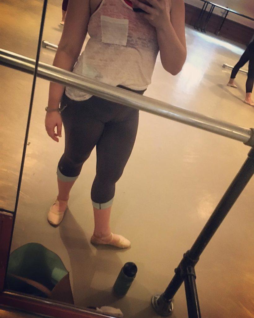Sometimes when Im not balanced the ballet barre calls mehellip