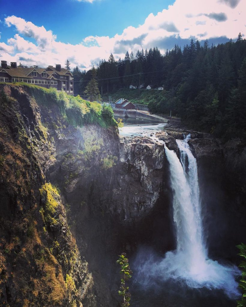Hike today at snoqualmiefalls with cheyrivers amp jkight89 seattle dayhikehellip