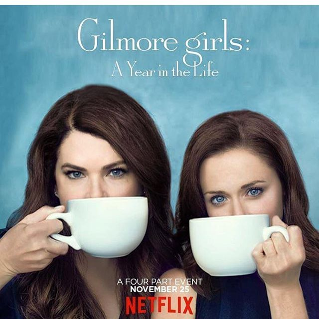 Thinking of the gilmoregirls on nationalcoffeeday They fueled my obsessionhellip