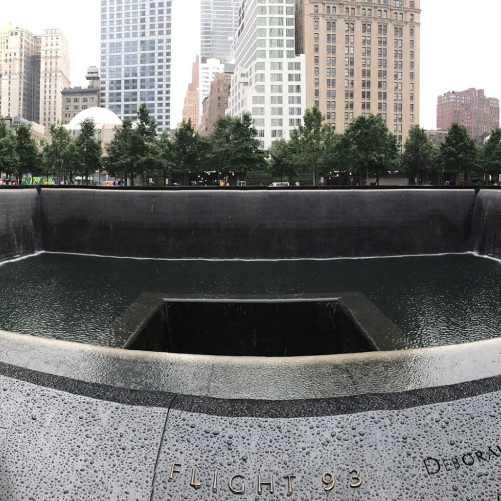 Spent the afternoon 911memorial  My first time visiting thehellip