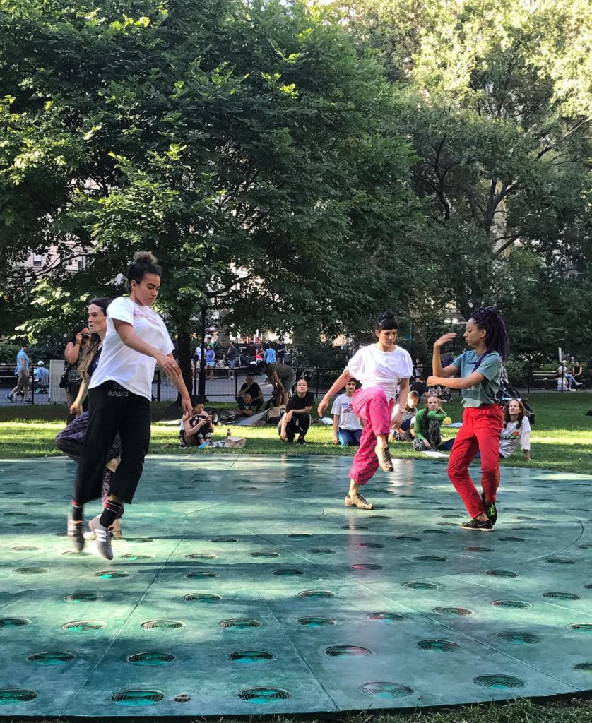 I spy jodimelnickdance and dancers in madsqparknyc Can still catchhellip